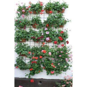 Samozavlažovací kvetináč na stenu Siesta, antracit, 29 cm, Plastia - samozavlažovacie kvetináče, samozavlažovací kvetináč, kvetinac, kvetináč, kvetináče, hlinené kvetináče, plastové kvetináče, plastovy kvetinac, hlineny kvetinac, terakotové kvetináče, vonkajšie kvetináče, lacné kvetináče, dizajnovy kvetinac, dizajnové kvetináče, zavlazovacie hodiny, kvetinace exterier, moderné kvetináče, moderny kvetinac, vyvýšené kvetináče, kvetinac plastovy, čierny kvetináč, zlatý kvetináč, kvetinace na okna, kvetinac na okno